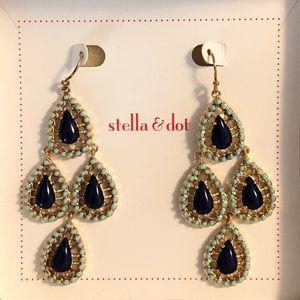 Stella & Dot   Teardrop chandelier earrings